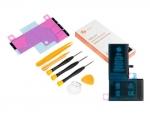Инструмент для самостоятельного ремонта телефона ZeepDeep Аккумулятор для APPLE iPhone X + набор инструментов+клеевые полоски+пошаговая инструкция 749821
