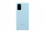 Чехол Samsung Silicone Cover S20+, небесно-голубой