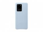 Чехол Samsung Leather Cover S20 Ulta, небесно-голубой