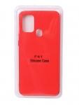 Чехол Innovation для Samsung Galaxy F41 Soft Inside Red 18987
